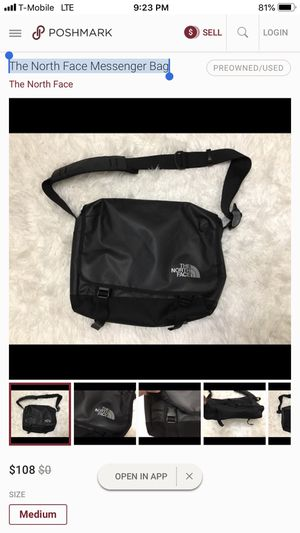 The North Face Messenger Bag for Sale in Lynnwood, WA