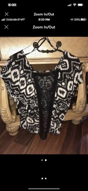 Women's fringe patterned top for Sale in Matewan, WV