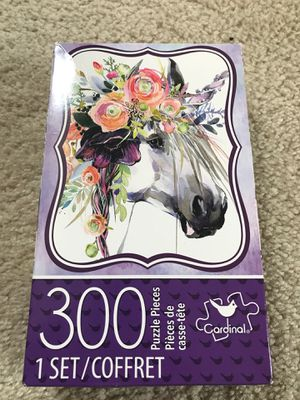 Cardinal Games: Unicorn - 300 Piece Jigsaw Puzzle for Sale in Rochester Hills, MI