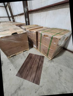 Luxury vinyl flooring!!! Only .67 cents a sq ft!! Liquidation close out! 2 for Sale in Dallas, TX