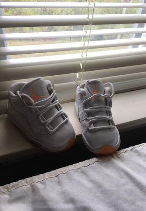 Orange and white Jordan's (infant) for Sale in Nashville, TN