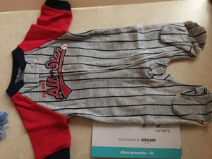 4- Brand new Carters Sleepers, preemie size for Sale in Everett, WA
