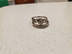 Engagement ring and wedding band for Sale in Mechanicsville, MD