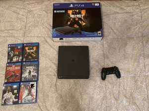 Ps4+box+games(no trades,no shipping) for Sale in Chicago, IL