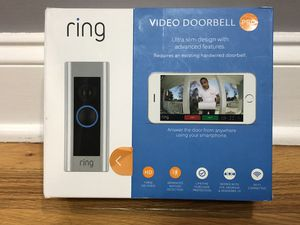 Ring video door bell pro for Sale in Shelby, NC