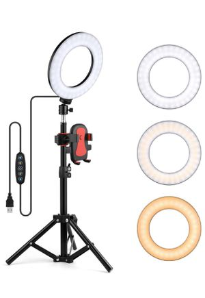 """6"""" Selfie Ring Light with Tripod Stand for Sale in La Puente, CA"""