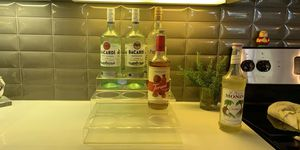 Clear bottle holder acrylic for Sale in Austin, TX