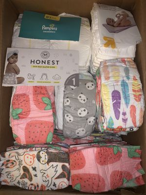 Diapers 150 pack size 1 for Sale in San Dimas, CA
