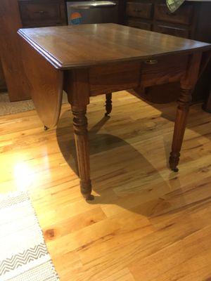 Antique drop leaf table for Sale in Greer, SC
