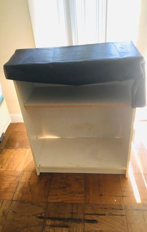 Free Bar stool ( handle is missing) and the rack for Sale in Norwood, MA