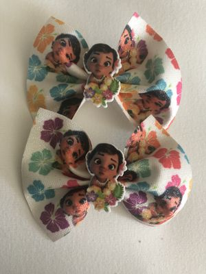 Moana Hair Bows 2 for $4 for Sale in Anaheim, CA