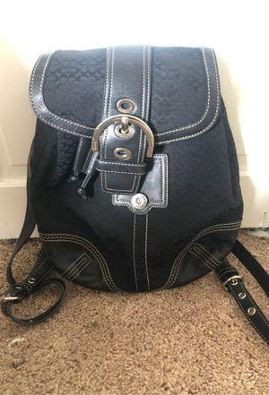 COACH mini black book bag for Sale in Altamonte Springs, FL