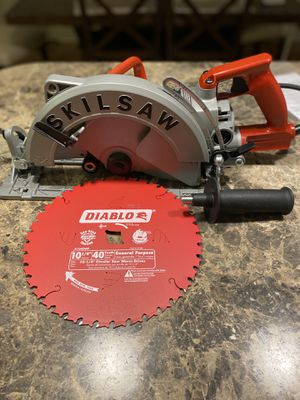 SkilSaw 10-1/4 Circular Saw with Diablo Blade for Sale in Georgetown Township, MI