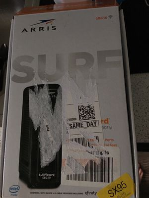 Arris Surfboard DOCSIS 3.0 Cable Modem and WiFi Router for Sale in Austin, TX