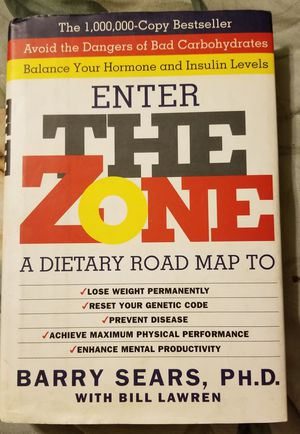Enter The Zone, a Dietary Road Map for Sale in Chino, CA