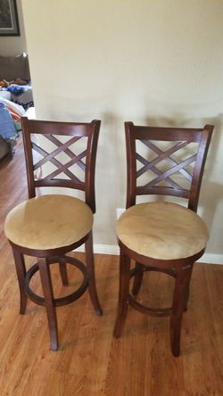2 very nice bar stools 60.00 for both for Sale in Highland Village,  TX