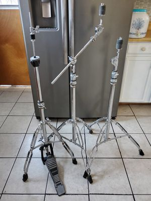 PREMIER Hardware Hihat stand & 2 straight/ Boom Cymbal stand for Sale in Long Beach, CA