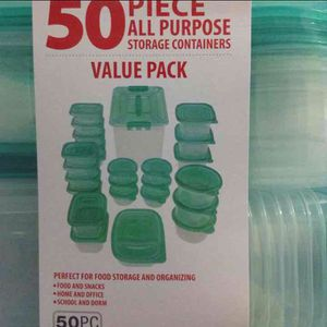 50 PIECE STORAGE CONTAINERs for Sale in Queens, NY