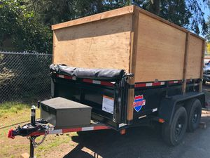 Dump trailer for rent 6x10 10k (not for sale) for Sale in Kirkland, WA