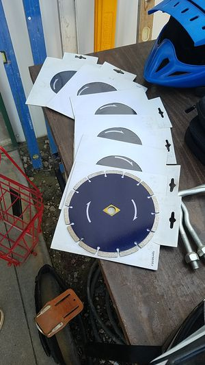 7 and 1/4 inch Diamond blades for Sale in Menifee, CA