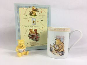 """Disney Classic Winnie The Pooh Royal Doulton """"Congratulations"""" Gift Set NEW! for Sale in Hamilton Township, NJ"""