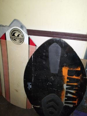 2 wakeboard surfboards for Sale in Missouri City, TX