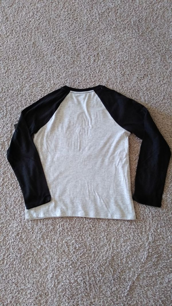3 New Beautiful Athletic Long Sleeve Shirt , kids size L 10/12 ( new with tag ) price for all