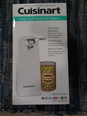 CuisinArt Electric Can Opener for Sale in Fort Washington, MD