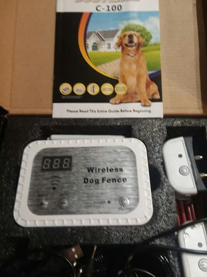 Wireless Electronics Dog Fence for two dogs!!new for Sale in Chino, CA
