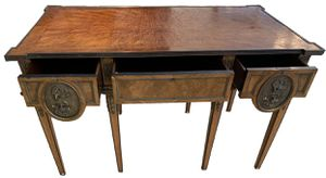 Vintage Secretaire with Great Marquetry and Rich and for Sale in Los Angeles, CA