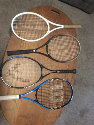 4 Tennis Rackets for Sale in Austin, TX