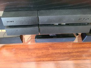 Selling Playstation 4 with 2 controllers 2 games for $350 for Sale in San Mateo, CA