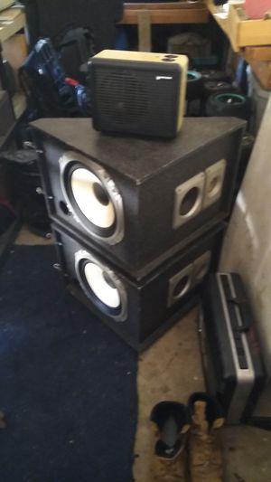 Custom speaker boxes for Sale in Glendora, CA