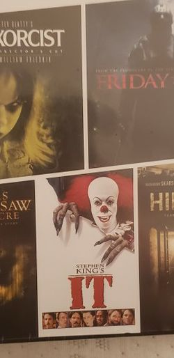 5 Film Collection Harrowing Horror for Sale in Hacienda Heights,  CA