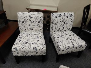 New Pair of Accent Chairs for Sale in Fairfield, CA