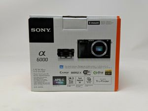 BRAND NEW Sony Alpha A6000 Camera with 16-50mm lens for Sale in Fremont, CA
