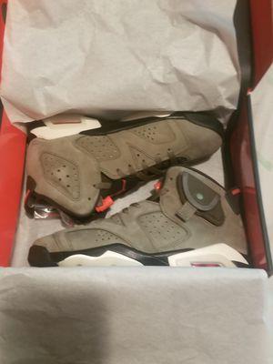 New Jordan 6 Retro Travis Scott size 6.5y for Sale in Philadelphia, PA