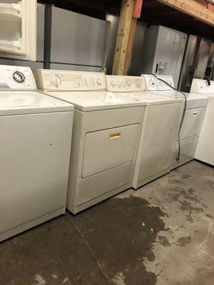 Lavadoras y secadora for Sale in Houston, TX