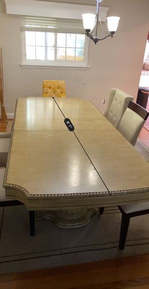 Elegant 8-10 seating table for Sale in Annandale, VA