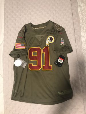 Redskins salute to service Jersey for Sale in Alexandria, VA