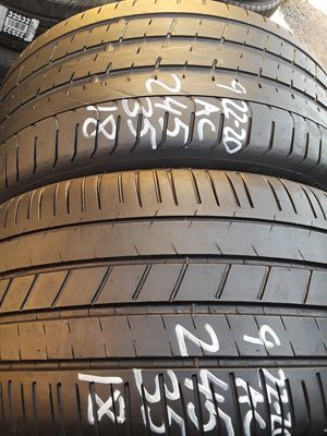 245/35-18 #2 tires for Sale in Alexandria, VA