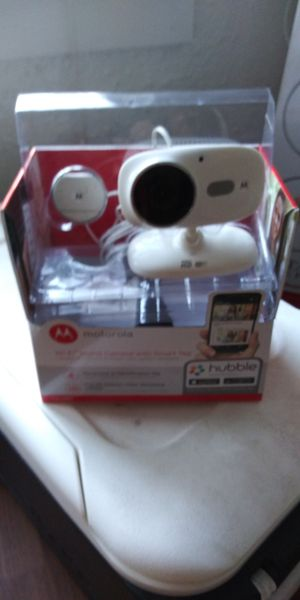 Motorola WiFi camera with night vision and motion detector for Sale in Jacksonville, FL