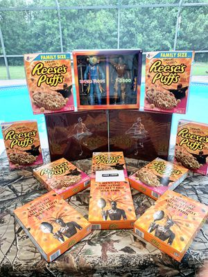 Travis Scott Cereal & Action Figures for Sale in Naples, FL