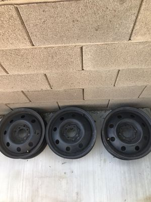 14inch set of 3 rims for Sale in Henderson, NV