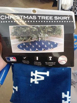 Christmas Tree skirt Dodgers for Sale in Bakersfield, CA
