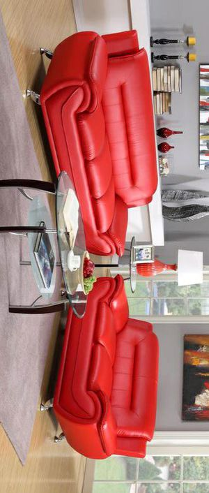 New /Enna Red Sofa & Loveseat $39 DOWN Payment for Sale in Arlington, VA