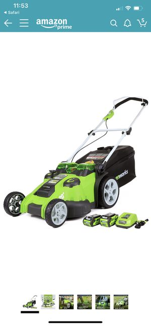 Green works lawn mower leaf blower weed eater for Sale in Ashland City, TN