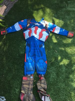 Captain America Costume(no mask) for Sale in Corona, CA