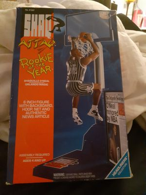1993 Kenner Shaq Attack Rookie Of The Year 6 Inch Figure!!! VTG Collector toy for Sale in Northlake, IL