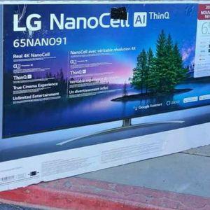 "65"" LG Nanocell91 4k Smart Tv UHD HDR 2.1 HDMI for Sale in Las Vegas, NV"